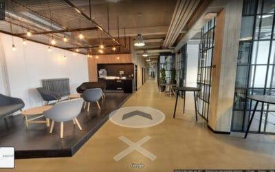 Google Street View indenfor i virksomheder er kommet for at blive